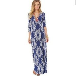 Lilly Pulitzer Yvette Wrap maxi dress